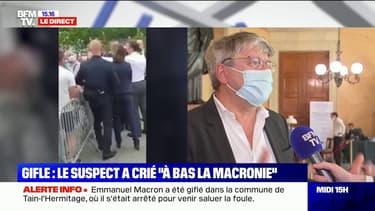 """Macron giflé: """"On ne peut pas faire de la politique avec ce genre d'agissement violent dans le pays"""", déclare Éric Coquerel (LFI)"""