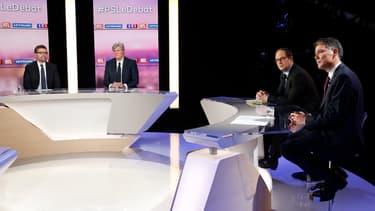 Le plateau du débat