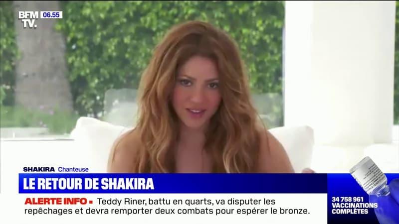 De retour après 4 ans d'absence, Shakira se confie à BFMTV sur son nouveau tube