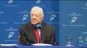 Jimmy Carter a affiché une grande sérénité en annonçant qu'il allait être soigné pour des tumeurs cancéreuses au cerveau.