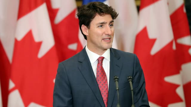 Justin Trudeau à Ottawa le 5 juin 2017