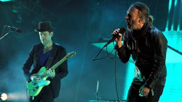 Radiohaed en concert, le 14 avril 2012