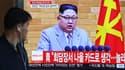 Kim Jong Un s'adresse à la population coréenne, le 21 avril 2018.