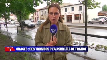 Story 2 : Orages, des trombes d'eau sur l'Île-de-France - 22/06