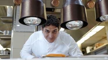 """Mauro Colagreco  à la tête du Mirazur, qui a été sacré """"meilleur restaurant"""" au monde 2019 dans le classement de 50 Best"""