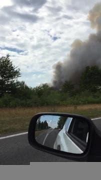 Incendie de forêt en cour dans la Teste-de-Buch - Témoins BFMTV