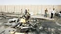 Un double attentat à la voiture piégée visant des pèlerins chiites a fait samedi 25 morts au moins à Bagdad. /Photo prise le 16 juin 2012/REUTERS/Ali al-Mashhadani