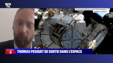 Story 3 : Thomas Pesquet de sortie dans l'espace - 16/06