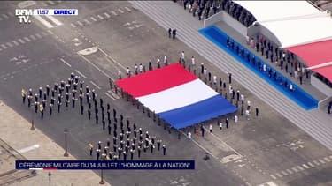 14-Juillet : la Marseillaise retentit sur la place de la Concorde