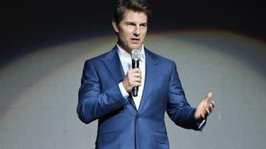 Tom Cruise en avril 2018 à Las Vegas