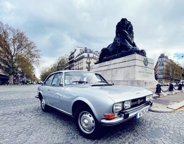 La Peugeot 504 convertie à l'électrique, c'est possible !