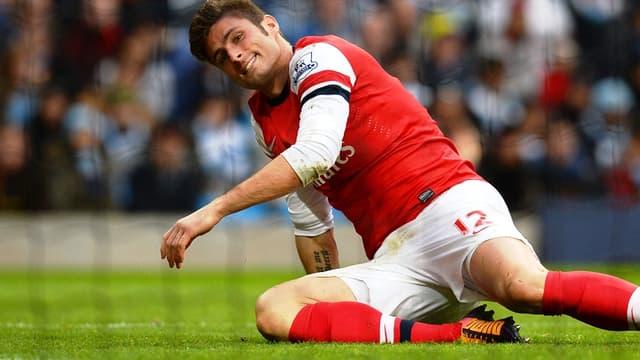 Arsenal : Olivier Giroud est resté muet face à Everton