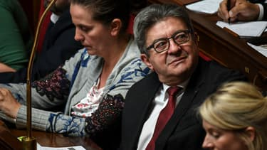 Le député insoumis des Bouches-du-Rhône Jean-Luc Mélenchon, le 12 juin 2019 à l'Assemblée nationale