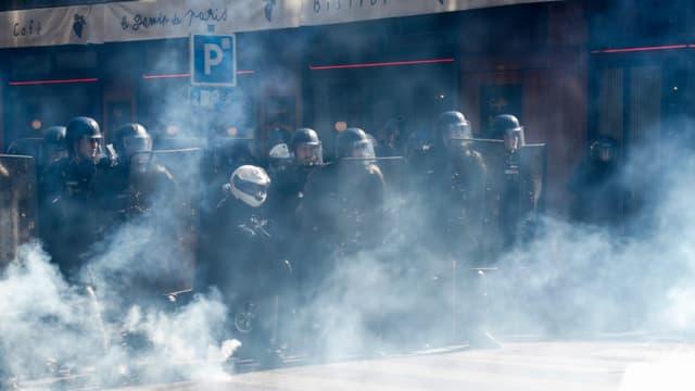 Les forces de l'ordre mobilisées à Paris ce samedi 21 septembre 2019