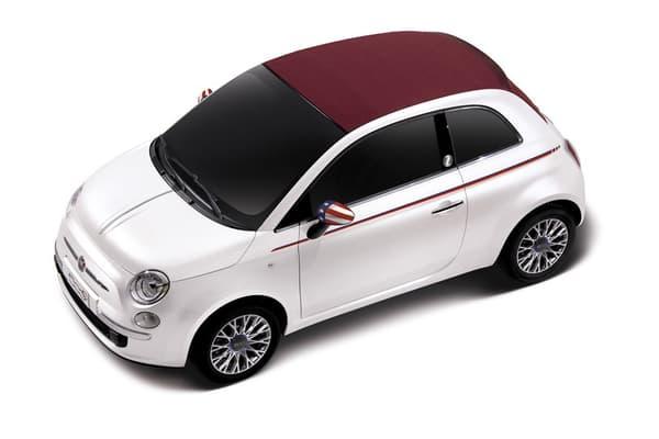 """Le blanc nacré de la Fiat 500, proposé de série a marqué un tournant. Plus seulement réservé aux utilitaires, le blanc peut être décliné de mille façons et être """"tendance""""."""