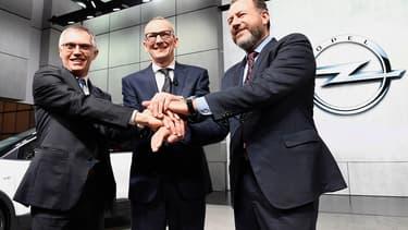 PSA et General Motors ont conclu la vente d'Opel au groupe français en mars dernier.