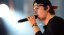 Le rappeur Orelsan sur scène au Stade de France, le 28 septembre 2013.
