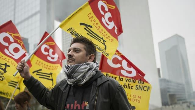 Le taux de grévistes était de 35,5% le 9 mars.
