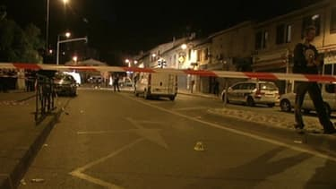La scène du crime à Marseille