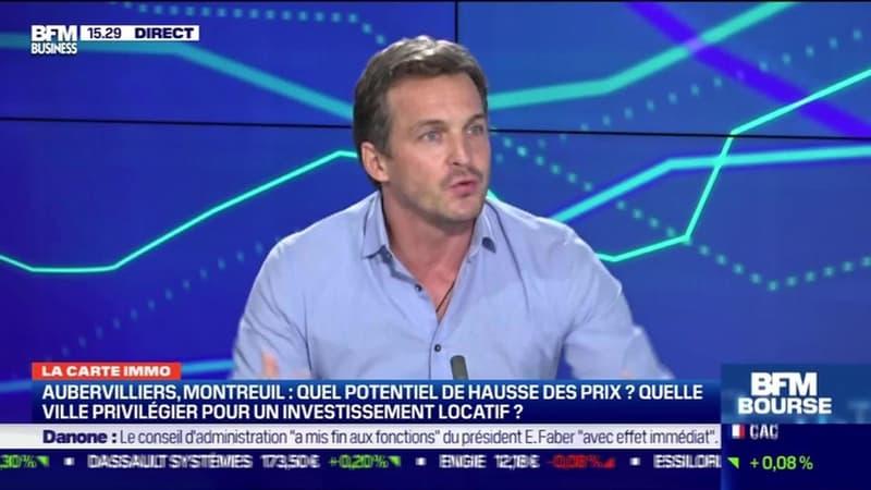 Karl Toussaint du Wast (Le tour de France de l'immobilier) : Le match immobilier du jour, Aubervilliers contre Montreuil - 15/03