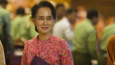 Aung San Suu Kyi, le 1er février 2016.