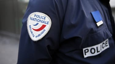 Un insigne de la police nationale (image d'illustration).