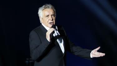 Michel Sardou en concert à Bercy en 2012