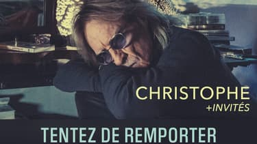 BFMTV partenaire des concerts de Christophe les 28 et 29 Septembre