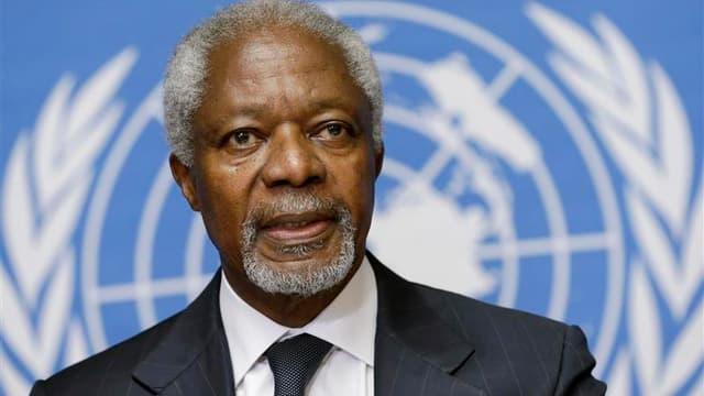 Kofi Annan renonce à son poste de médiateur des Nations Unies en Syrie