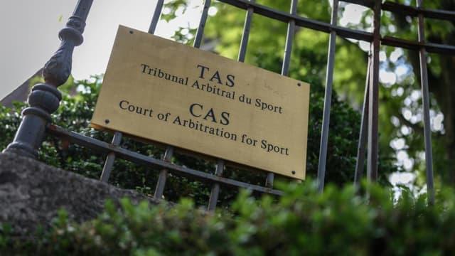 Le Tribunal arbitral du sport (TAS), à Lausanne, le 8 juin 2020