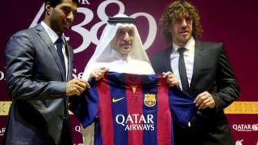 Qatar Airways est le premier sponsor maillot de l'histoire du FC Barcelone.