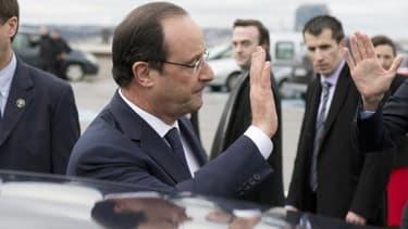 François Hollande va apporter son soutien aux soldats français déployés en Centrafrique.