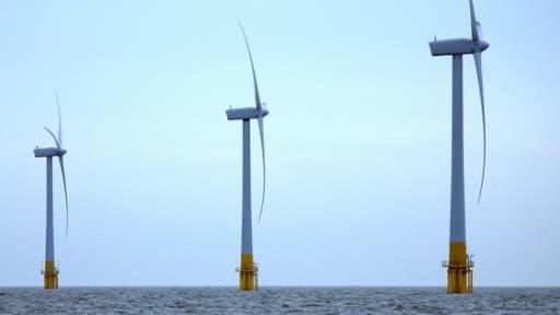 L'essentiel des éoliennes produites en Espagne sont à destination de la mer du Nord.