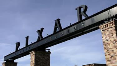 L'entrée des studios Pixar à Emeryville (Californie).