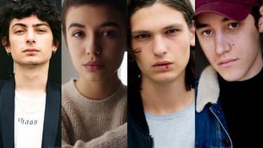 """Quatre des acteurs de """"Stalk"""""""