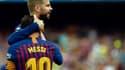 Piqué et Messi