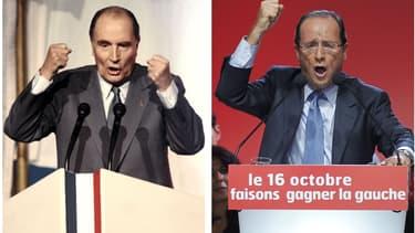 François Hollande et François Mitterrand ont tous les deux émis d'importantes critiques contre le capitalisme