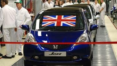 Inauguration de l'usine Honda de Swindon en 2009.