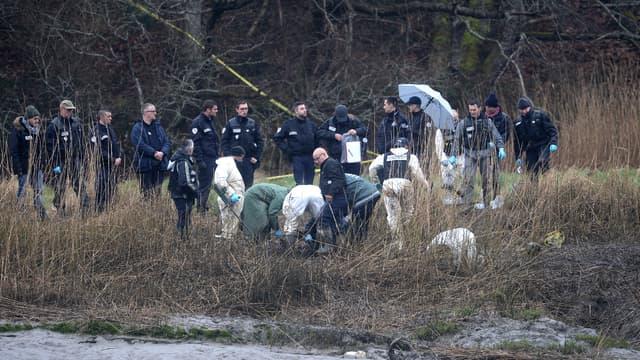 Des psychologues du Service de soutien psychologique opérationnel sont venus accompagnés les enquêteurs lors des fouilles de la ferme d'Hubert Caouissin, à Pont-de-Buis.