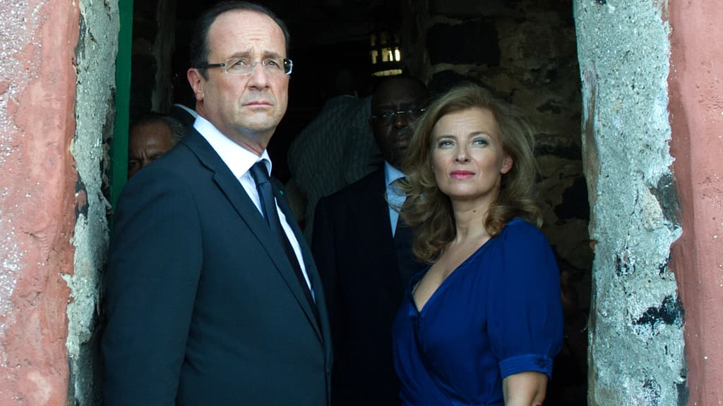 """Livre de Trierweiler: Hollande """"n'a rien vu venir"""""""