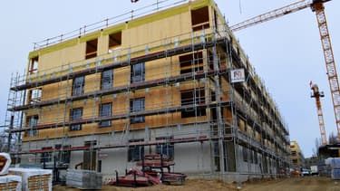 La construction de ce programme immobilier tout en bois n'aura duré qu'un an.