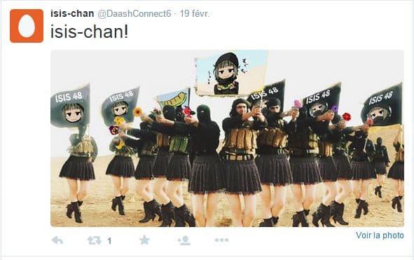Les Anonymous cherchent à décrédibiliser l'action des militants de Daesh.
