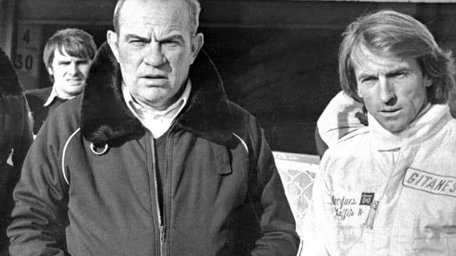 Guy Ligier et Jacques Laffite en 1980