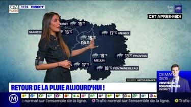 Météo Paris-Ile de France du 20 octobre: Retour de la pluie ce mardi