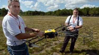 En configuration professionnelle, à plusieurs milliers d'euros pièce, bardés de capteurs et de caméras, les drones se mettent au service plusieurs secteurs d'activité.