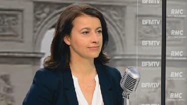 Cécile Duflot sur le plateau de RMC-BFMTV ce 17 mars.