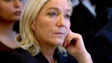 Marine Le Pen, le 18 octobre 2014.