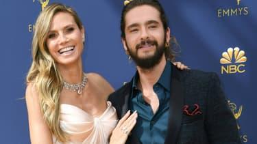 Heidi Klum et Tom Kaulitz aux Emmy Awards 2018