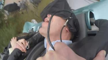 Le parc propose une attraction avec de la réalité virtuelle