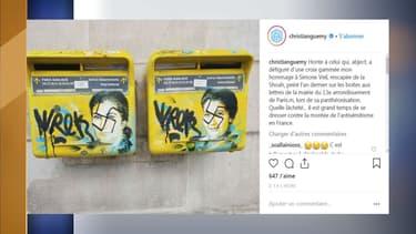 Des oeuvres de street-art représentant Simone Veil ont été taguées de croix-gammées.